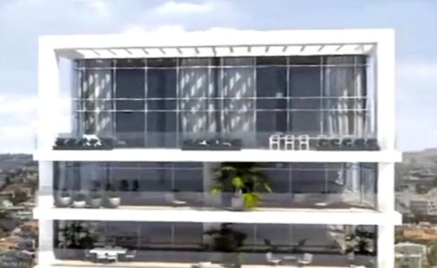 הדירה היקרה ביותר בארץ, חוץ (צילום: מתוך סרטון, גלובס)