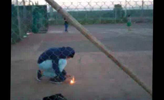 נער נפגע מנפץ (תמונת AVI: mako)