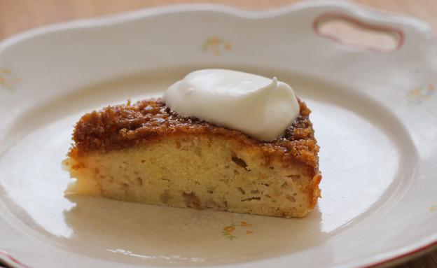 """עוגת תפוחים בציפוי טופי (צילום: עידית נרקיס כ""""ץ, טעים!)"""