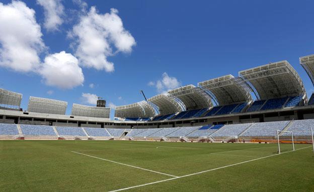 ברזיל מתכוננת למונדיאל (צילום: AP)