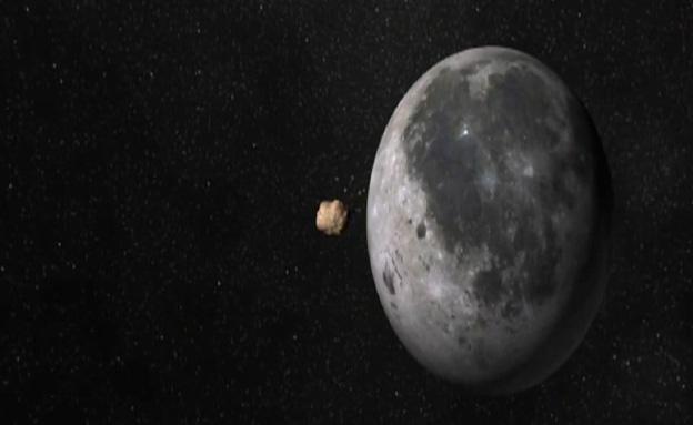 ירח, מטאור (צילום: חדשות 2)