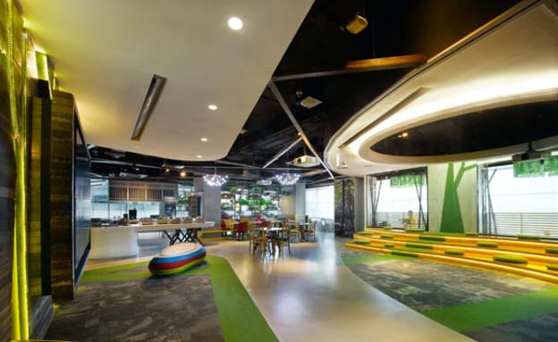 משרדי גוגל חדש, מטבח (צילום: indesignlive.sg)