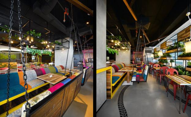משרדי גוגל חדש, נדנדה (צילום: indesignlive.sg)