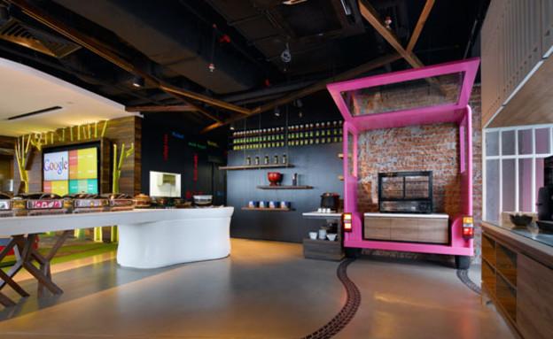 משרדי גוגל חדש, עגלה (צילום: indesignlive.sg)
