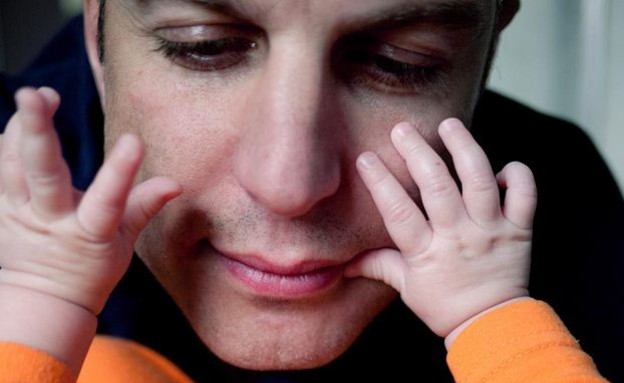 פיליפ טולדנו - עם אבא (צילום: פיליפ טולדנו, צילום מסך)
