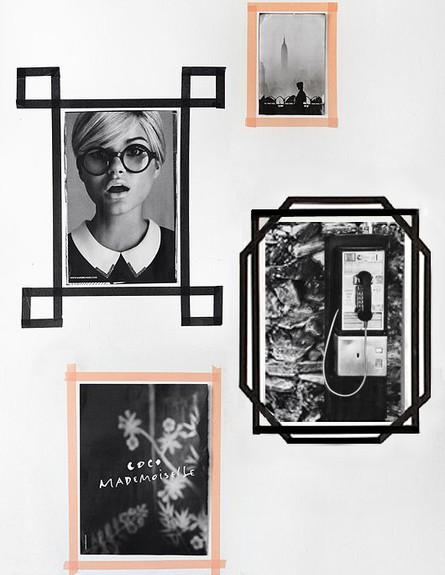קיר תמונות, ההיפסטרי (צילום: trendenser.se)
