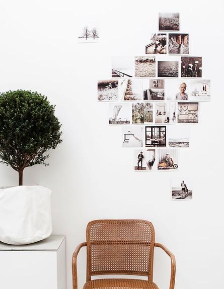 קיר תמונות, ההיפסטרי, פתרון לתמונות האינסטגרם (צילום: daniellawitte.se)