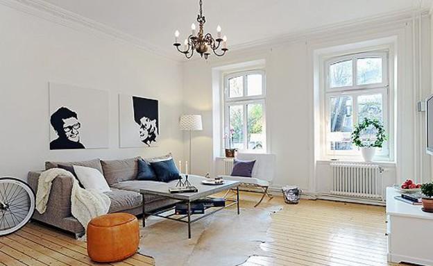 קיר תמונות, המינימליסטי (צילום: decoratrix.com)