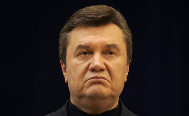 """""""עדיין הנשיא"""", ינוקוביץ' (צילום: רויטרס)"""