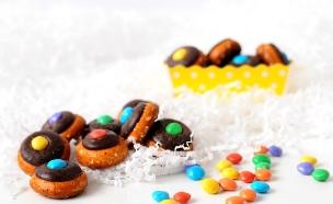 בייגלה בשוקולד (צילום: שרית נובק - מיס פטל, אוכל טוב)