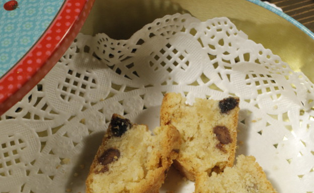 עוגיות אגוזים ופירות יבשים של איתן סלומון (צילום: דניאל בר און)