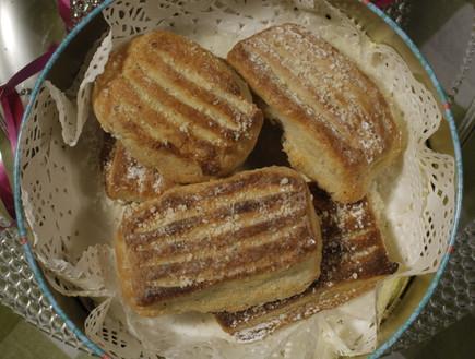 עוגיות מלוחות אתיופיות של מסרט וולדמיכאל (צילום: דניאל בר און)