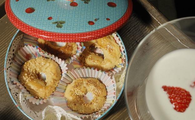 עוגיות עבאדי של ריקי סויסה (צילום: דניאל בר און)