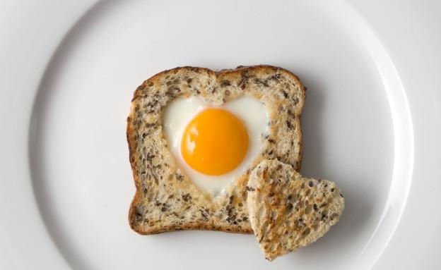 ביצת עין בצורת לב (צילום: Lonnia, Istock)