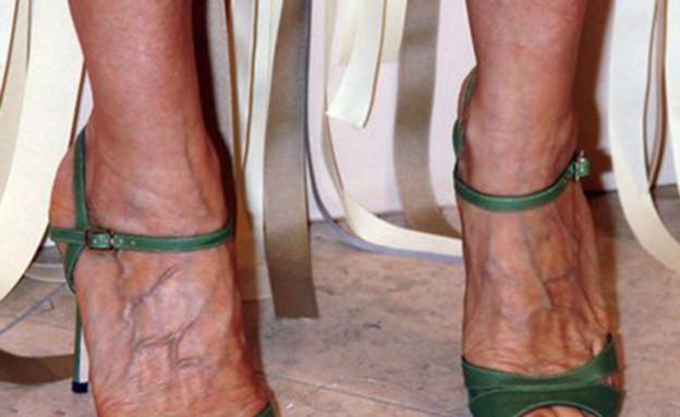 של מי הרגליים?