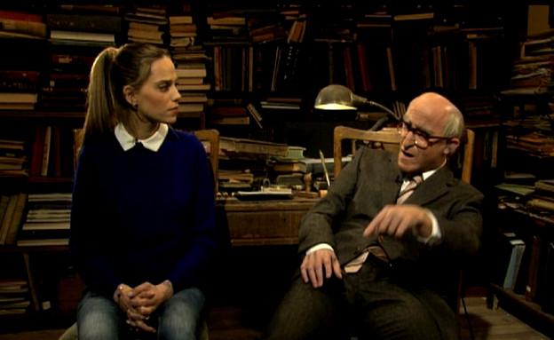 רותם סלע ופרופסור לייבניץ (תמונת AVI: mako)
