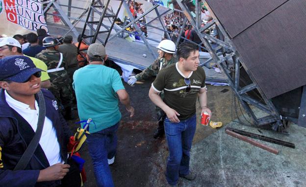 צפו בתמונות מבוליביה (צילום: AP)