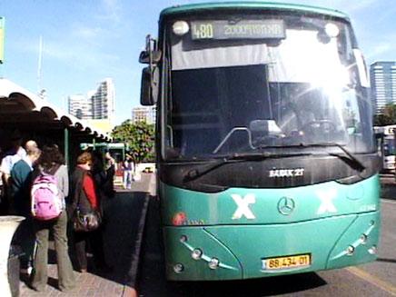 קווי אוטובוס רבים מושבתים (צילום: חדשות 2)