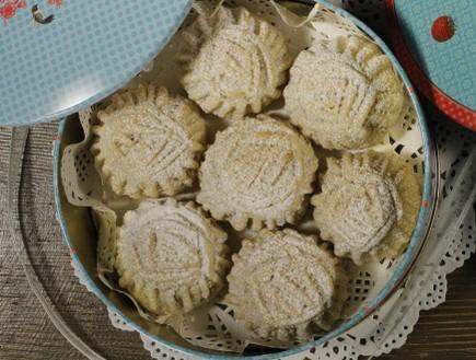עוגיות במילוי תמרים של נוף עתמאנה איסמעיל (צילום: דניאל בר און)