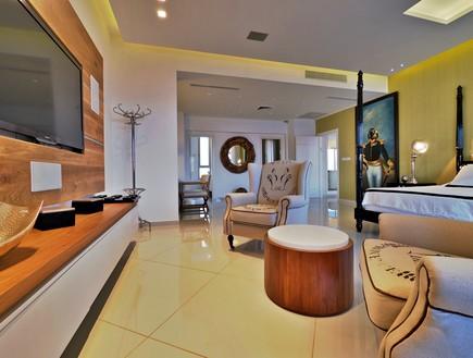 הבית באילת, סלון טלוויזיה