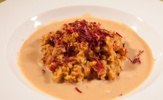 תבשיל שעועית ובקר משומר של מסרט וולדמיכאל (צילום: דניאל בר און)
