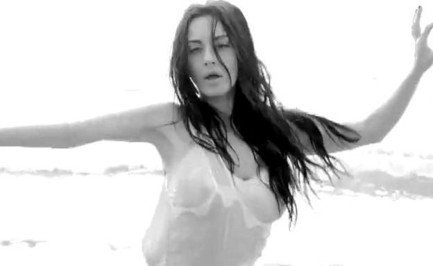 מאיה בוסקילה בקליפ לראות אותך מאושר (תמונת AVI: הנרי)