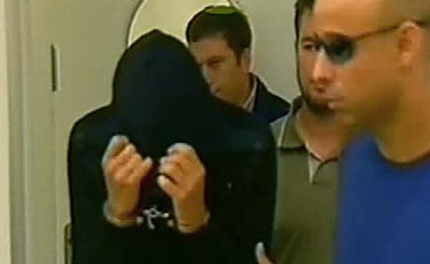 אבוטבול הבן מובא למעצר. ארכיון (צילום: חדשות 2)