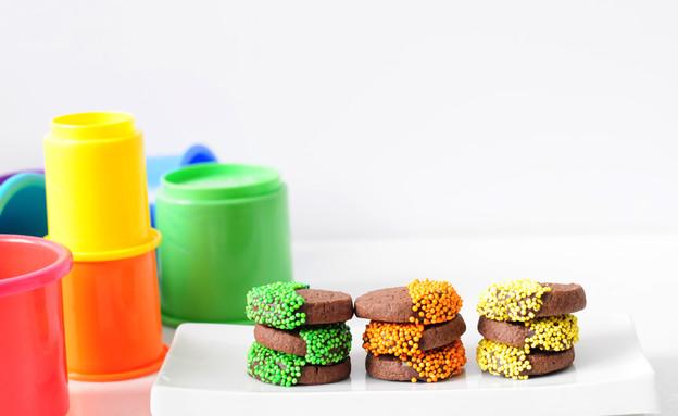 עוגיות פורימיות (צילום: שרית נובק - מיס פטל, אוכל טוב)