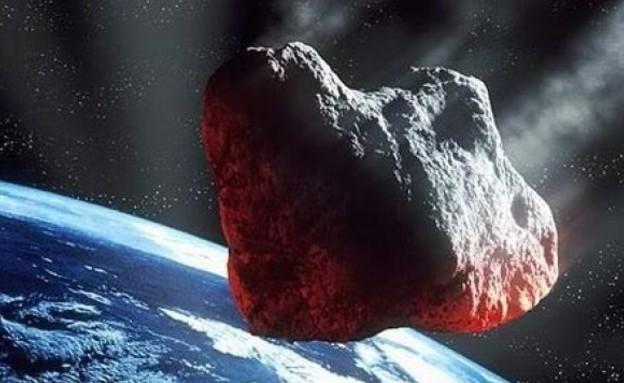 אסטרואיד קרוב מאוד (צילום: ESA)