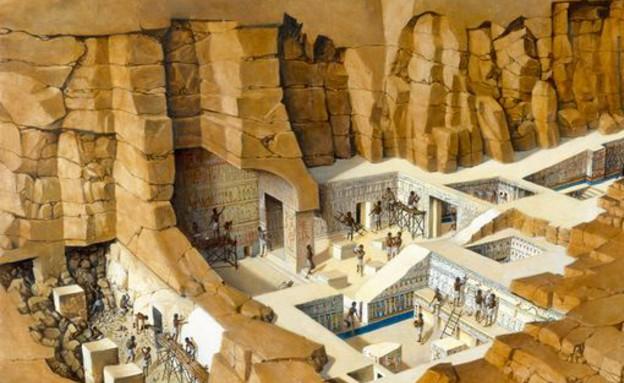 מצרים, מתחת לאדמה, קרדיט shirari.com (צילום: shirari.com)