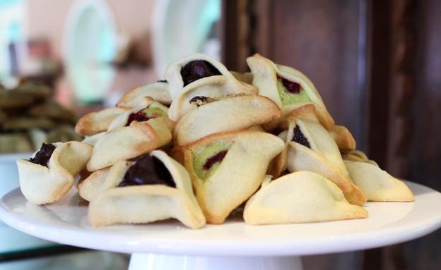 אזני המן קונדיטוריה דלאל  (צילום: טלי שיפר, אוכל טוב)