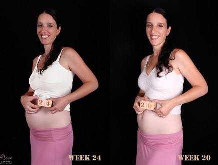 צילומי מעקב הריון - אפרת שיין 1