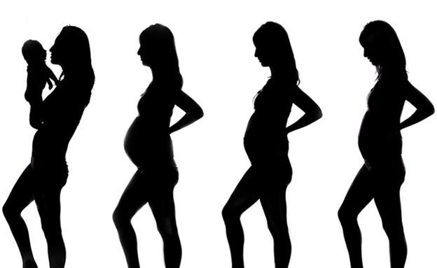 צילומי מעקב הריון - רותם שביט 2 (צילום: רותם שביט)