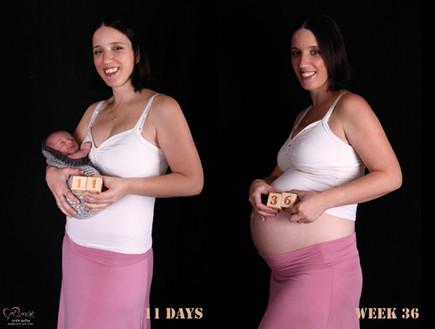 צילומי מעקב הריון - אפרת שיין 3