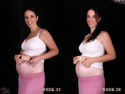 צילומי מעקב הריון - אפרת שיין 2