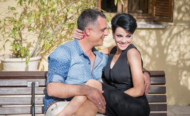 דנה רון ויריב נתי (צילום: ליאור קסוון)