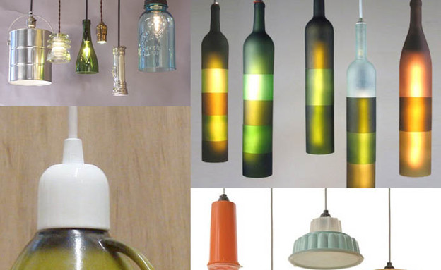 upcycled-light-fixturesפטנטים ממוחזרים, ספל מנורה  (צילום: upcycled-light-fixtures)