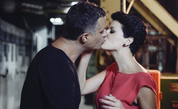"""דנה רון ויריב נתי (צילום: גיא כץ, מתוך """"זוג מנצח VIP"""")"""