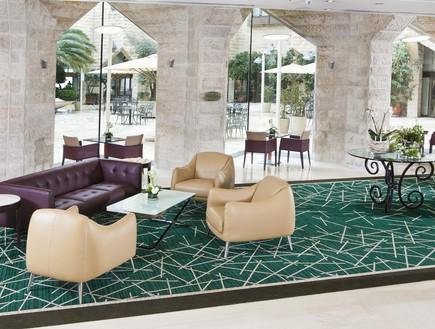 """לובי, מלון ענבל (צילום: יח""""צ מלון ענבל)"""