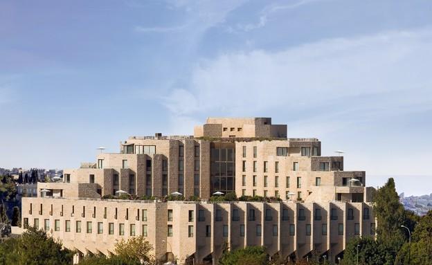 """מלון ענבל, מבחוץ (צילום: יח""""צ מלון ענבל)"""