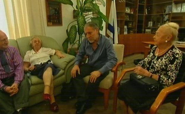 כך נראתה הפגישה עם השר ב-2013 (צילום: חדשות 2)