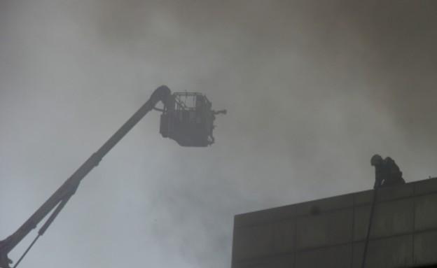 שריפה במפעל המייצר סמסונג גלקסי S5 (צילום: sammobile.com)