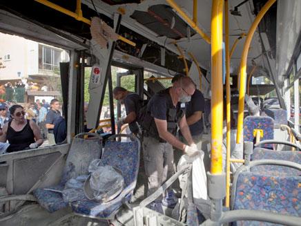 25 שנות מאסר למחבל שפוצץ את האוטובוס (צילום: AP)