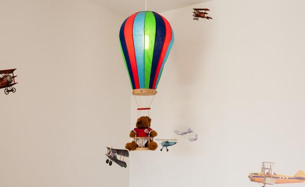 סטפני בשיפוץ, חדר ילד קיר (צילום: yoray Libermann)