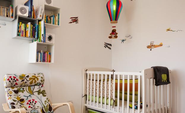 סטפני בשיפוץ, חדר ילד (צילום: yoray Libermann)