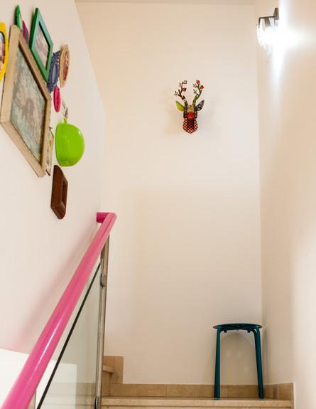 סטפני בשיפוץ, מדרגות גובה (צילום: yoray Libermann)
