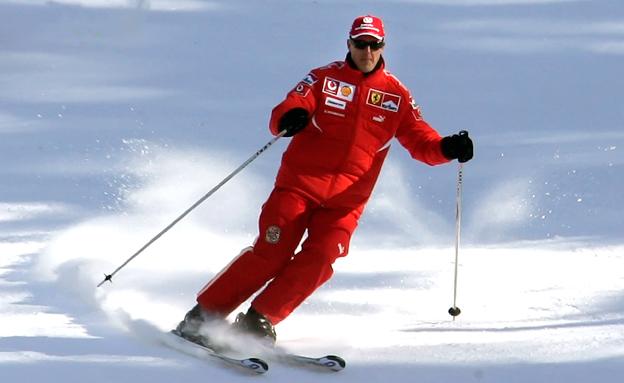 חובב הסקי המושבע נפצע אנוש בתאונה (צילום: רויטרס)