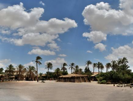 טיול כפר הנוקדים, החאן, קרדיט אתר כפר הנוקדים (צילום: אתר כפר הנוקדים)