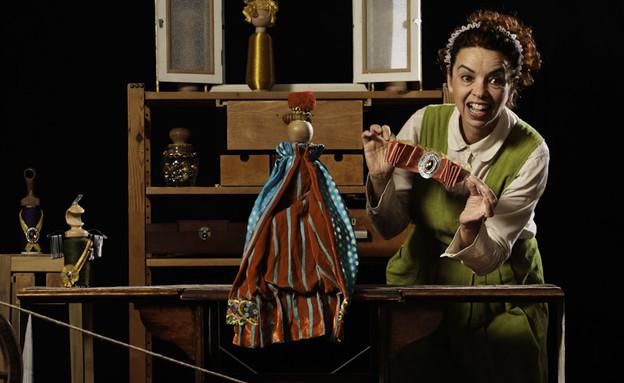 בגדי המלך החדשים במוזיאון הפתוח בעומר, פעילויות פורים (צילום: דאפי ספונר)
