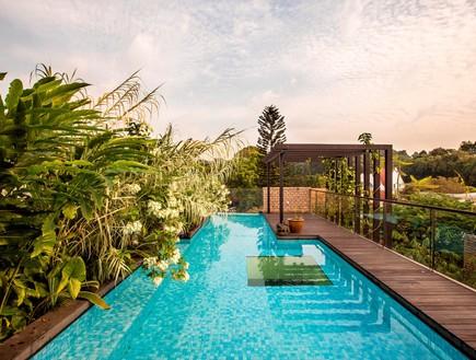 בית חלומות סינגפור, בריכה